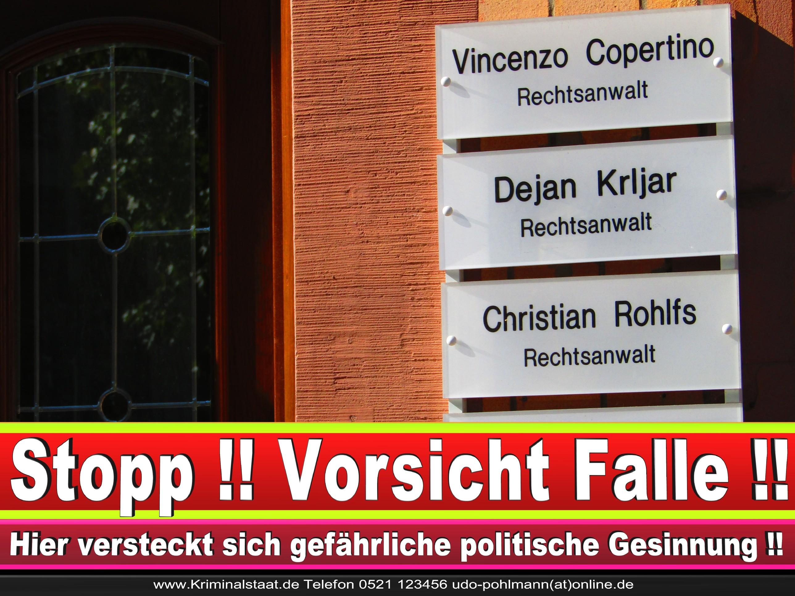 Rechtsanwalt Vincenzo Copertino Siekerwall 7 Bielefeld CDU 7