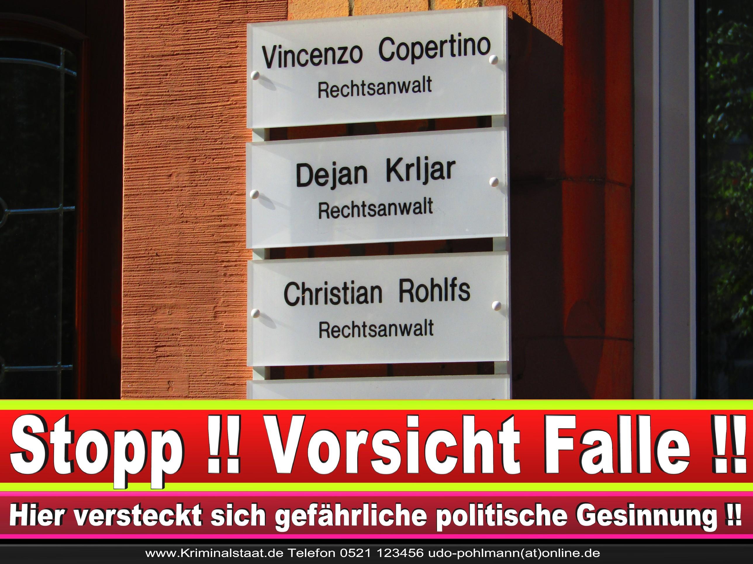 Rechtsanwalt Vincenzo Copertino Siekerwall 7 Bielefeld CDU 8