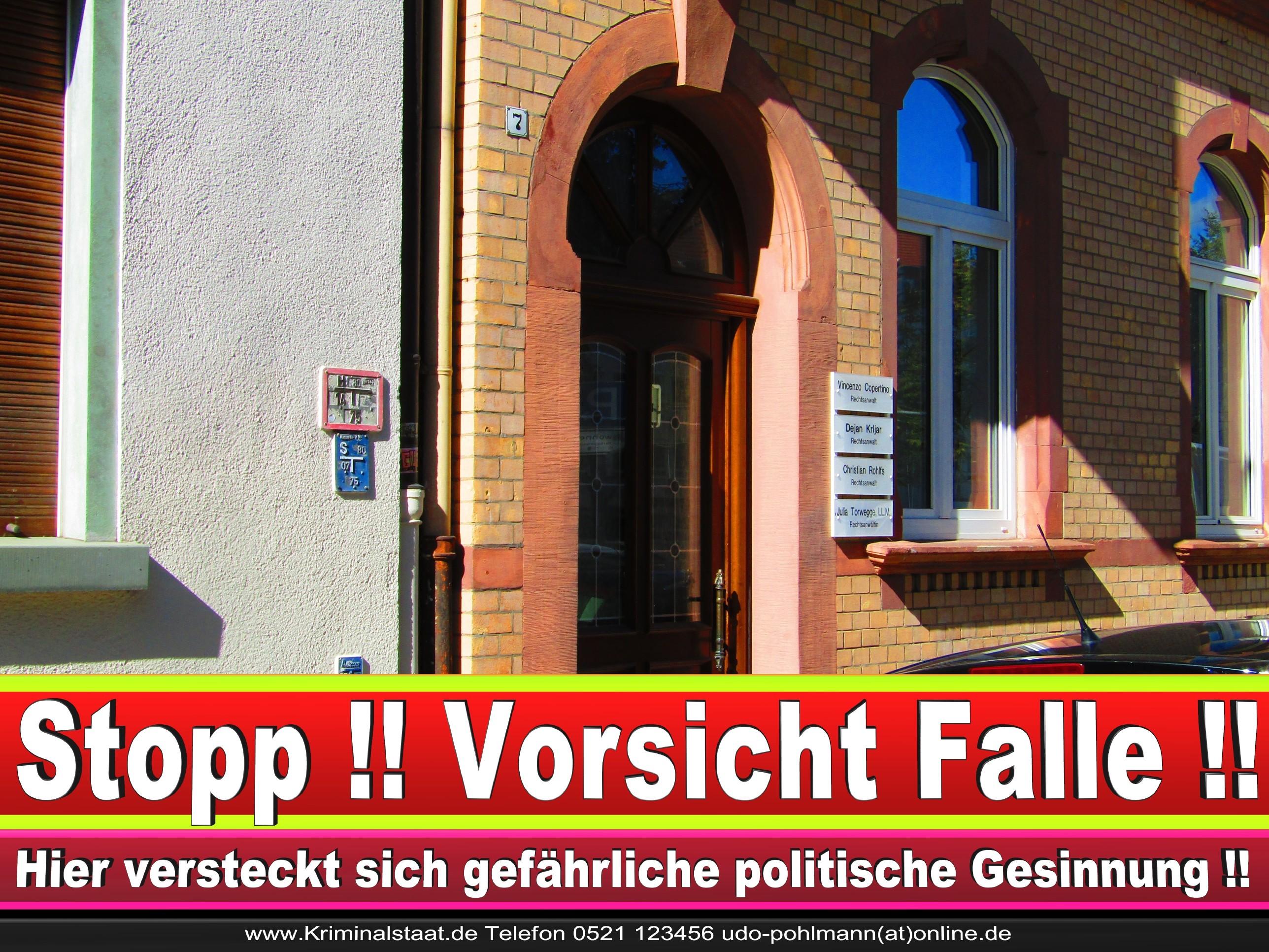Rechtsanwalt Vincenzo Copertino Siekerwall 7 Bielefeld CDU 9