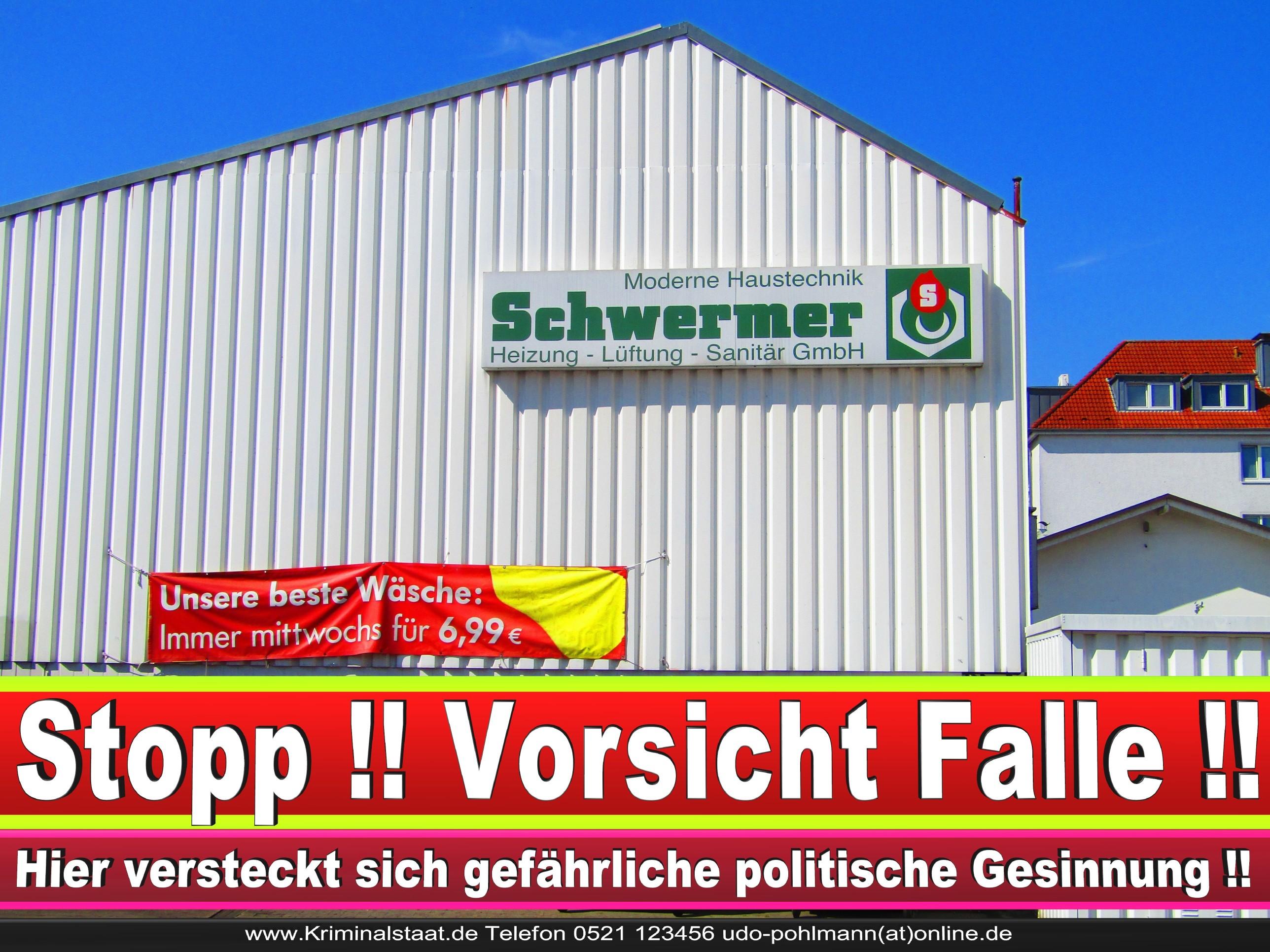 SCHWERMER BIELEFELD HEIZUNG SANITÄR CDU BIELEFELD 5 LANDTAGSWAHL BUNDESTAGSWAHL BÜRGERMEISTERWAHL