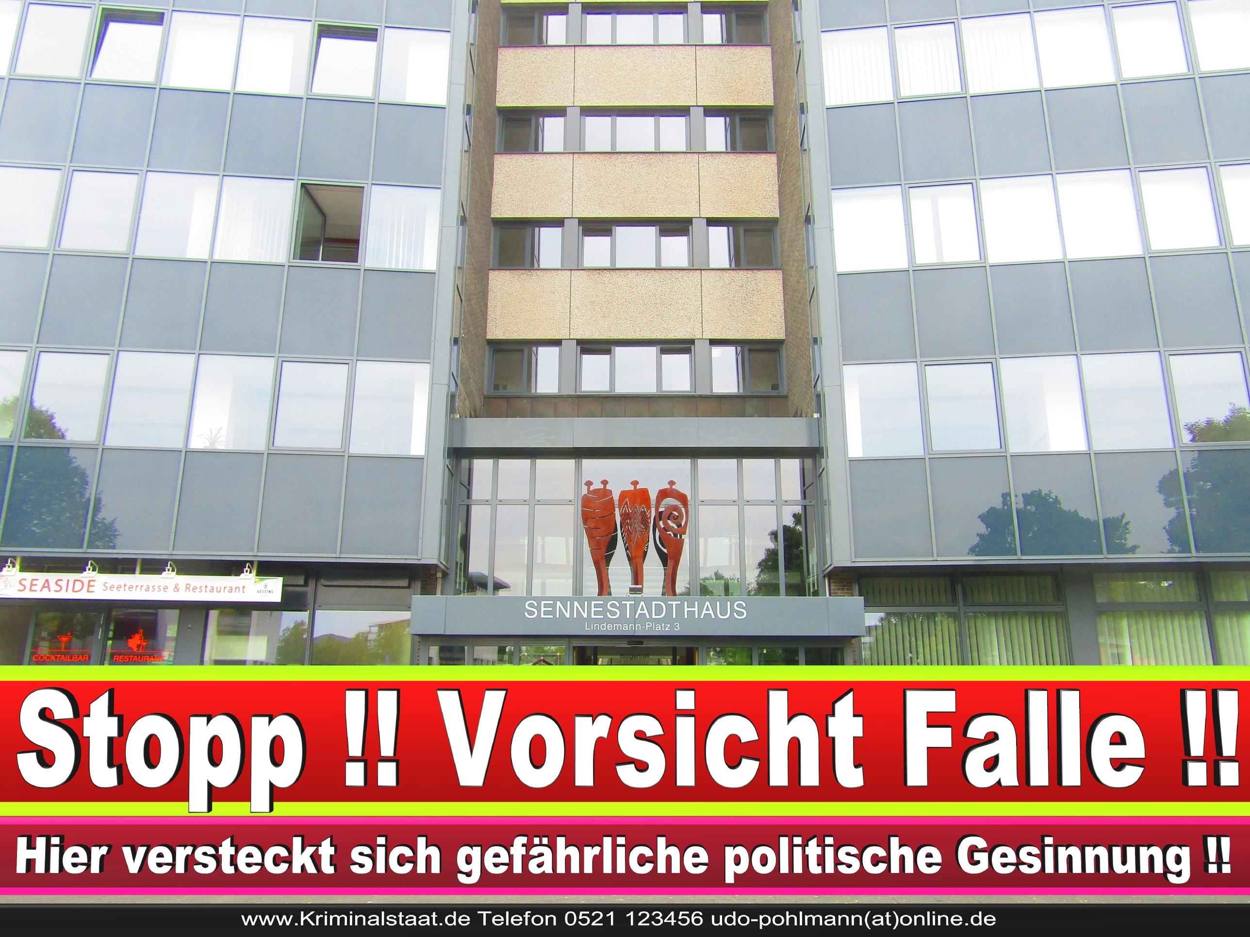 SENNESTADT VEREIN CDU Bielefeld 2 LANDTAGSWAHL BUNDESTAGSWAHL BÜRGERMEISTERWAHL