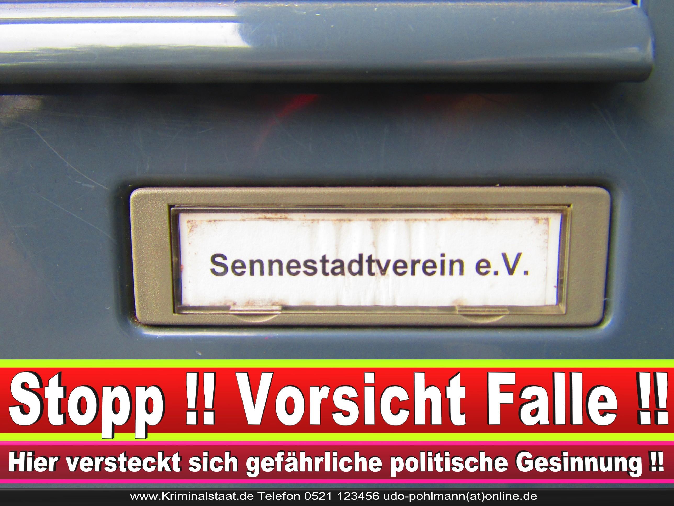 SENNESTADTVEREIN CDU BIELEFELD 2 LANDTAGSWAHL BUNDESTAGSWAHL BÜRGERMEISTERWAHL