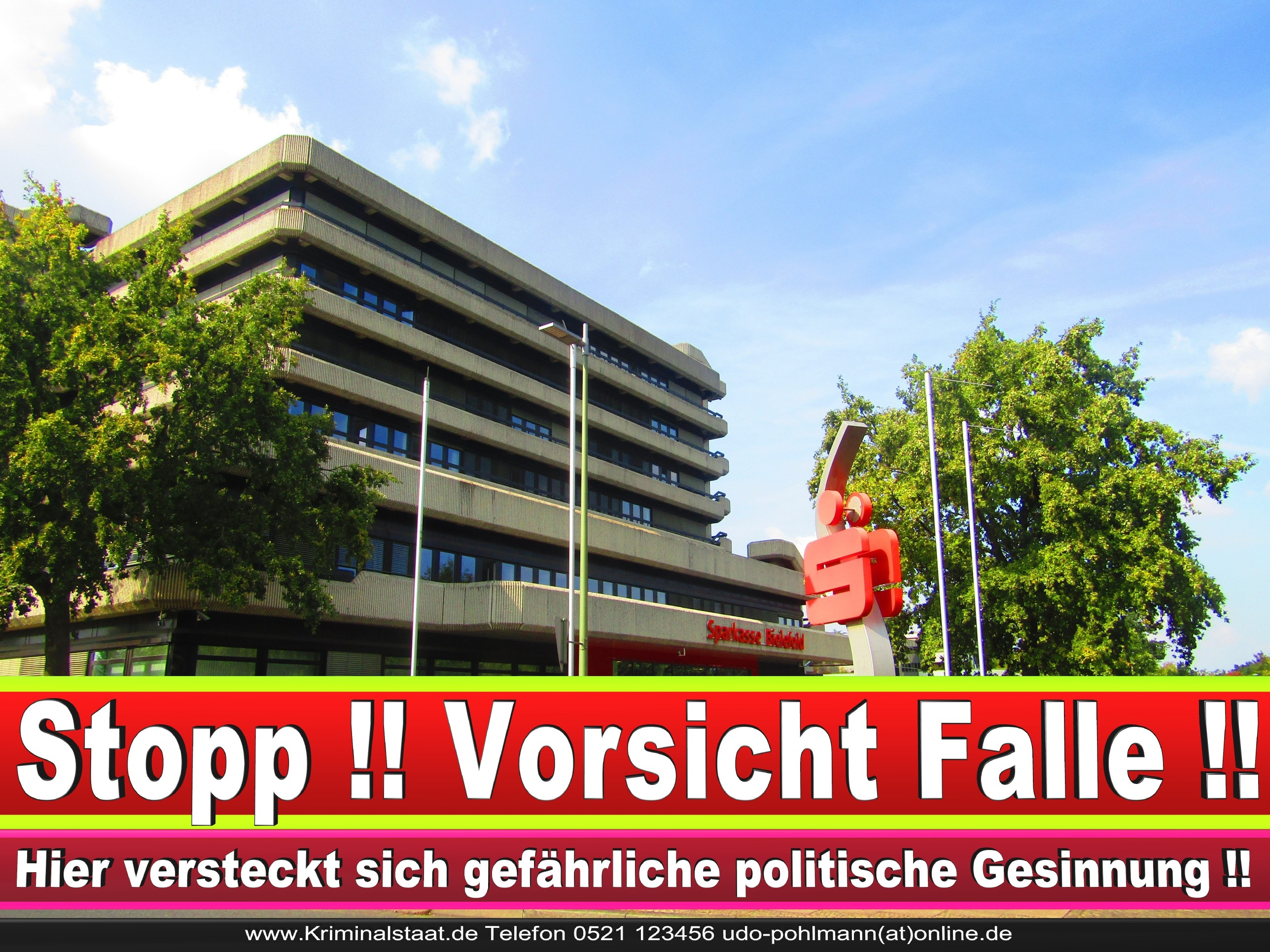 SPARKASSE BIELEFELD ANDREAS RÜTHER CDU BIELEFELD 6 LANDTAGSWAHL BUNDESTAGSWAHL BÜRGERMEISTERWAHL