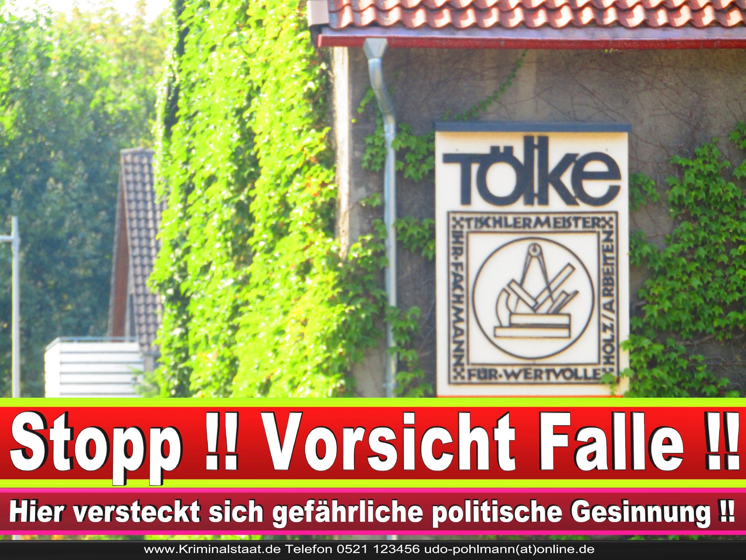 TISCHLEREI TOELKE CDU BIELEFELD TÖLKE 2 LANDTAGSWAHL BUNDESTAGSWAHL BÜRGERMEISTERWAHL