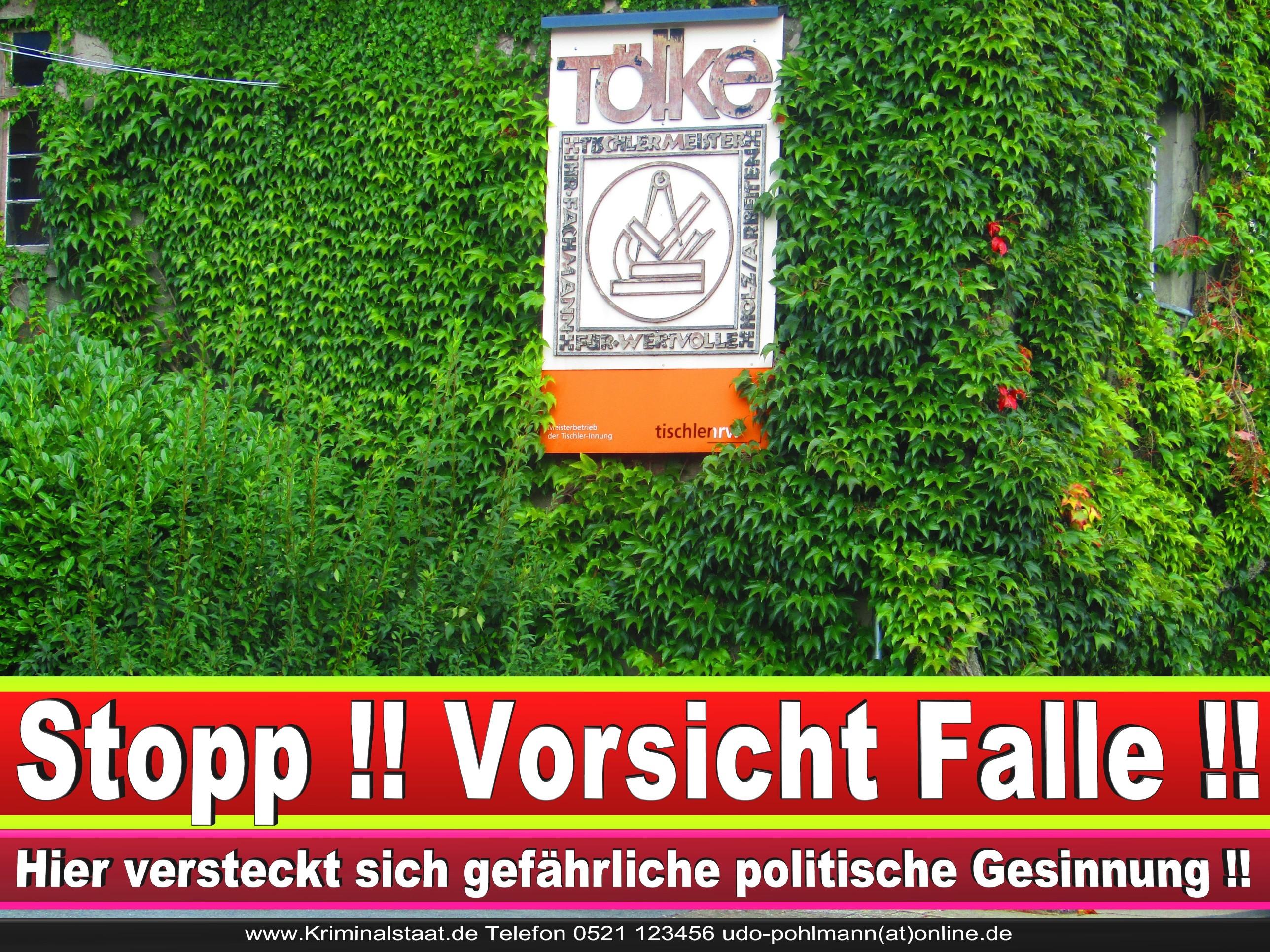 TISCHLEREI TOELKE CDU BIELEFELD TÖLKE 3 LANDTAGSWAHL BUNDESTAGSWAHL BÜRGERMEISTERWAHL