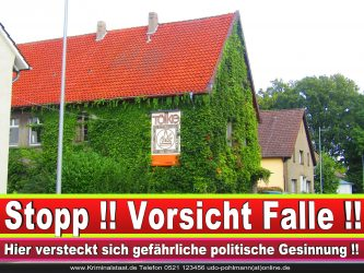TISCHLEREI TOELKE CDU BIELEFELD TÖLKE 4 LANDTAGSWAHL BUNDESTAGSWAHL BÜRGERMEISTERWAHL