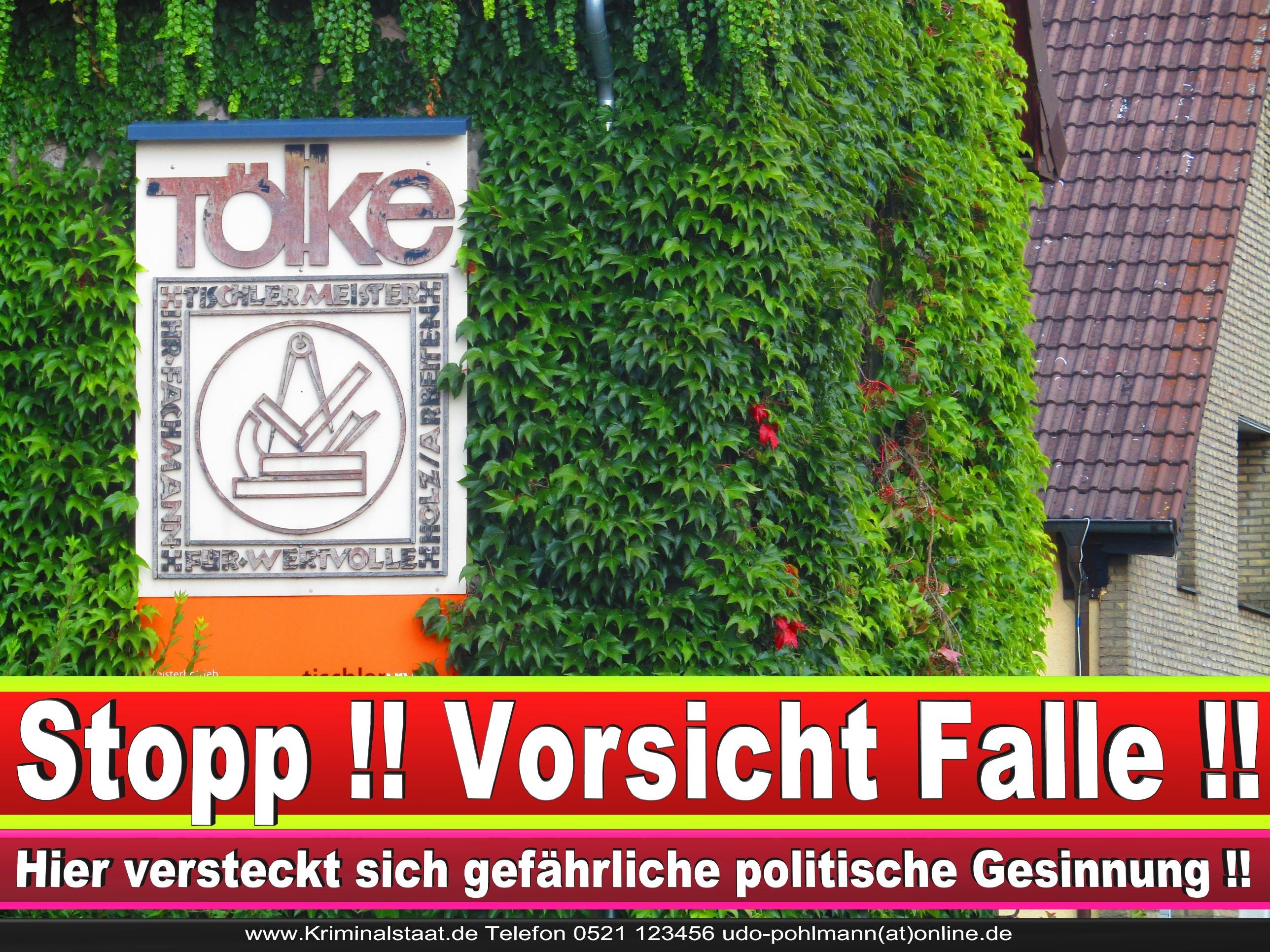 TISCHLEREI TOELKE CDU BIELEFELD TÖLKE 6 LANDTAGSWAHL BUNDESTAGSWAHL BÜRGERMEISTERWAHL