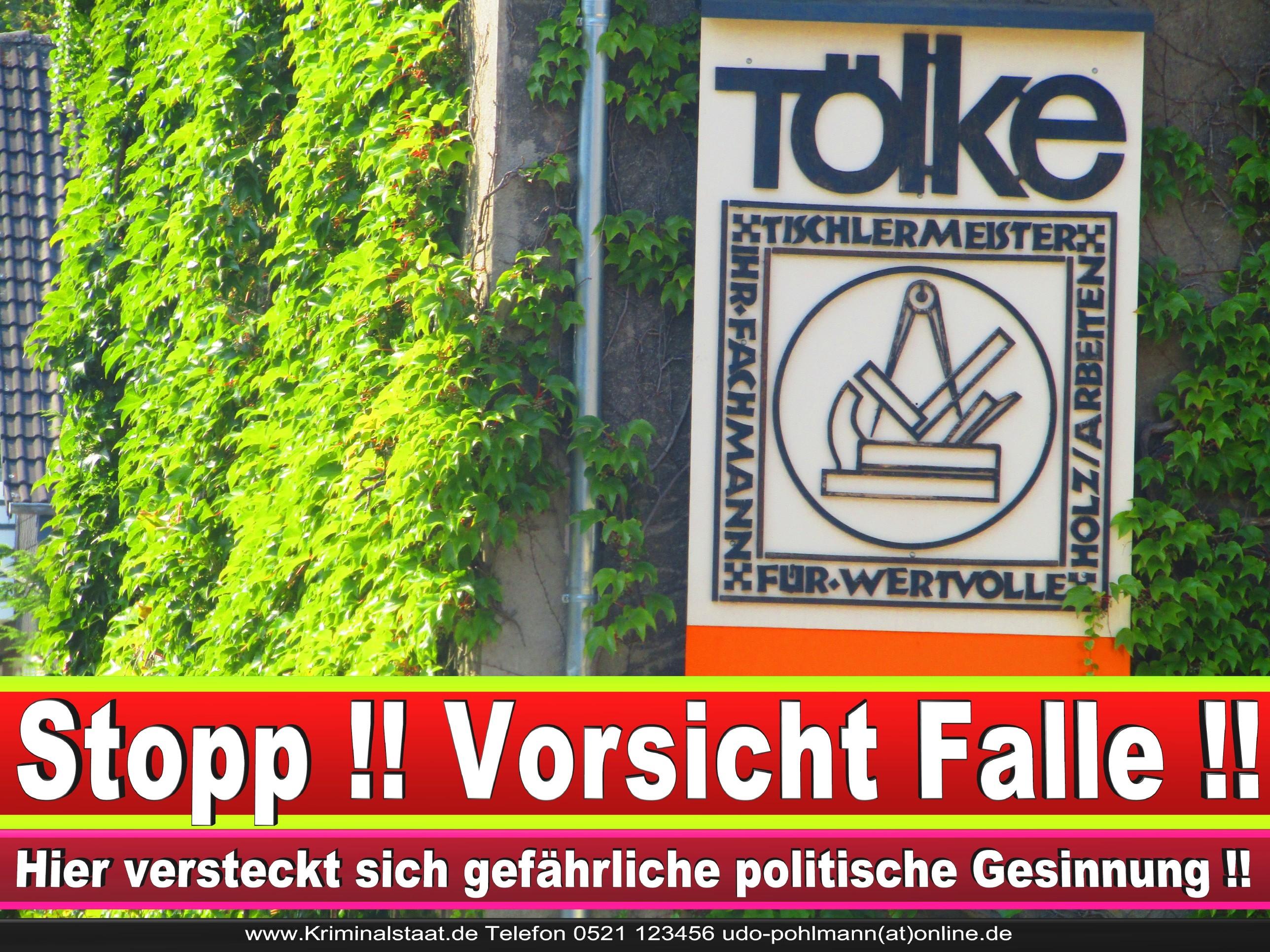 TISCHLEREI TOELKE CDU BIELEFELD TÖLKE 8 LANDTAGSWAHL BUNDESTAGSWAHL BÜRGERMEISTERWAHL