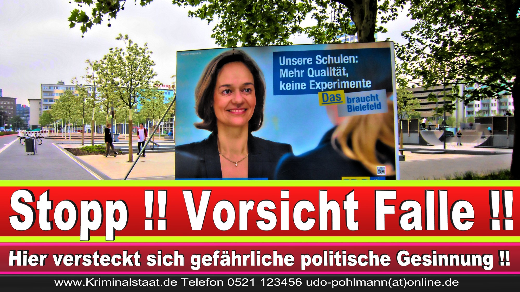 Wahlwerbung Wahlplakate Landtagswahl 2019 Europawahl CDU SPD FDP 2021 (119)