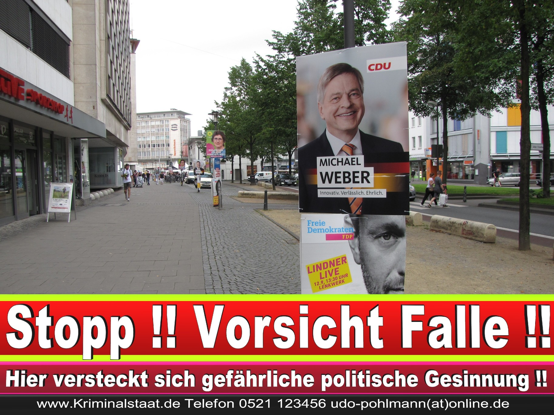 Wahlwerbung Wahlplakate Landtagswahl 2019 Europawahl CDU SPD FDP 2021 (33)