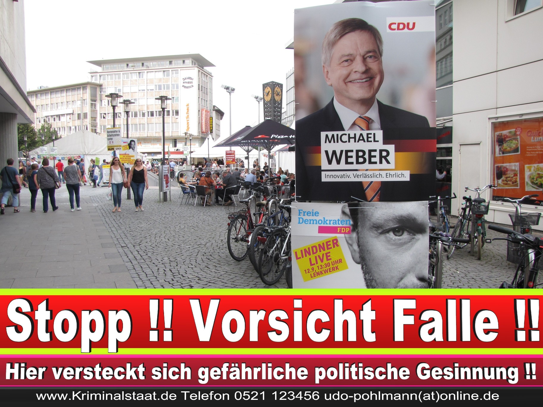 Wahlwerbung Wahlplakate Landtagswahl 2019 Europawahl CDU SPD FDP 2021 (39)
