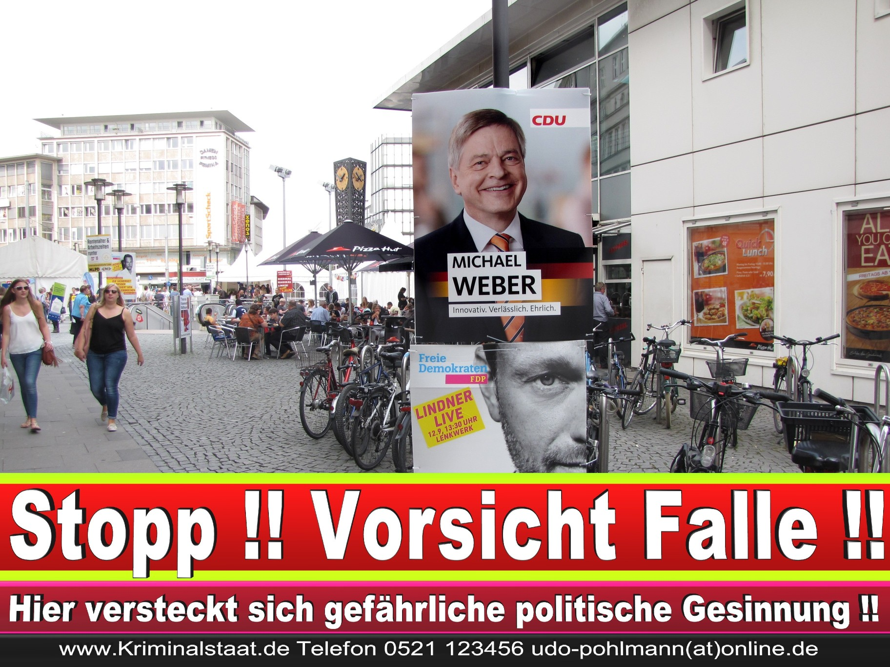 Wahlwerbung Wahlplakate Landtagswahl 2019 Europawahl CDU SPD FDP 2021 (41)