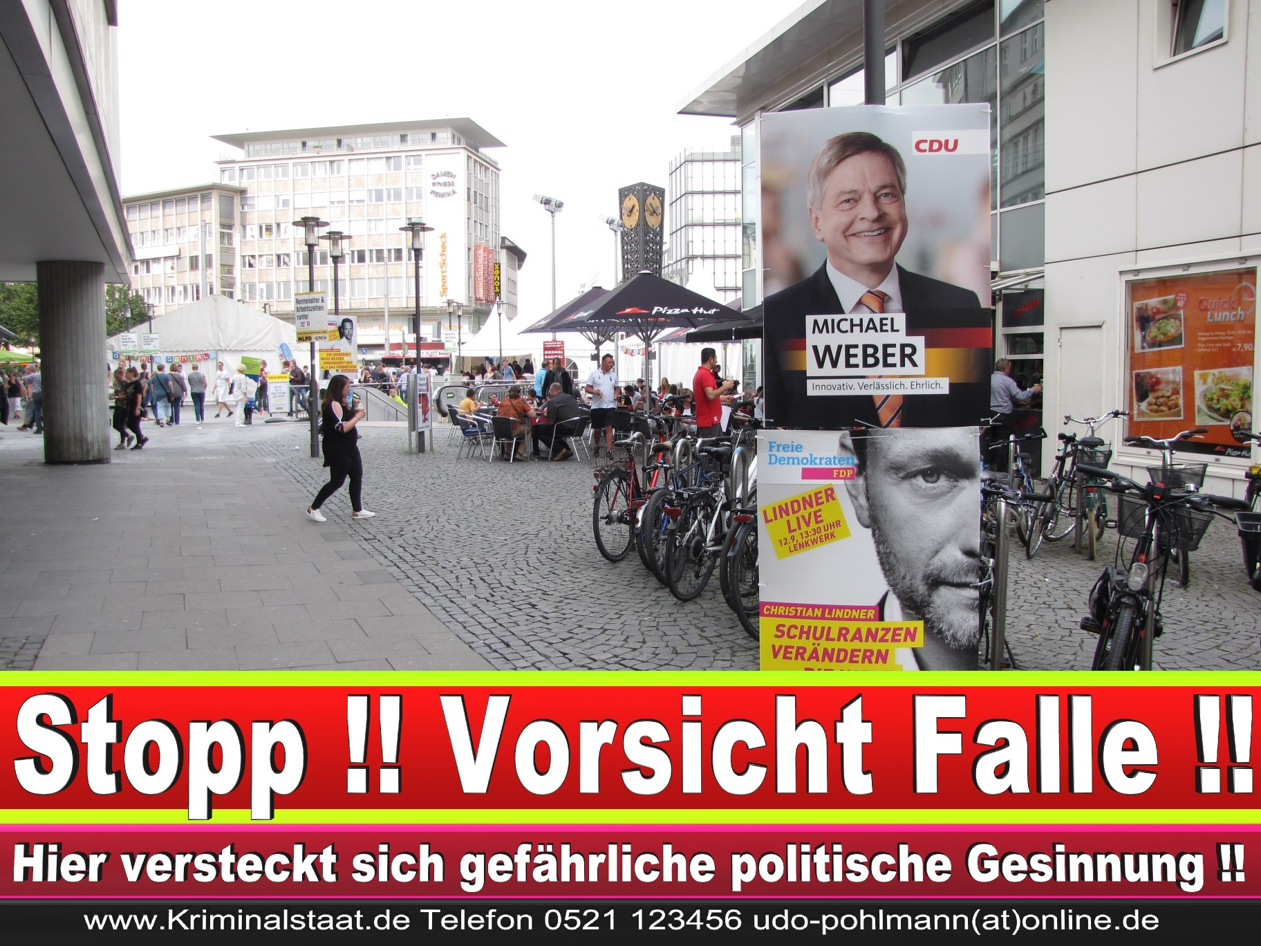Wahlwerbung Wahlplakate Landtagswahl 2019 Europawahl CDU SPD FDP 2021 (49)