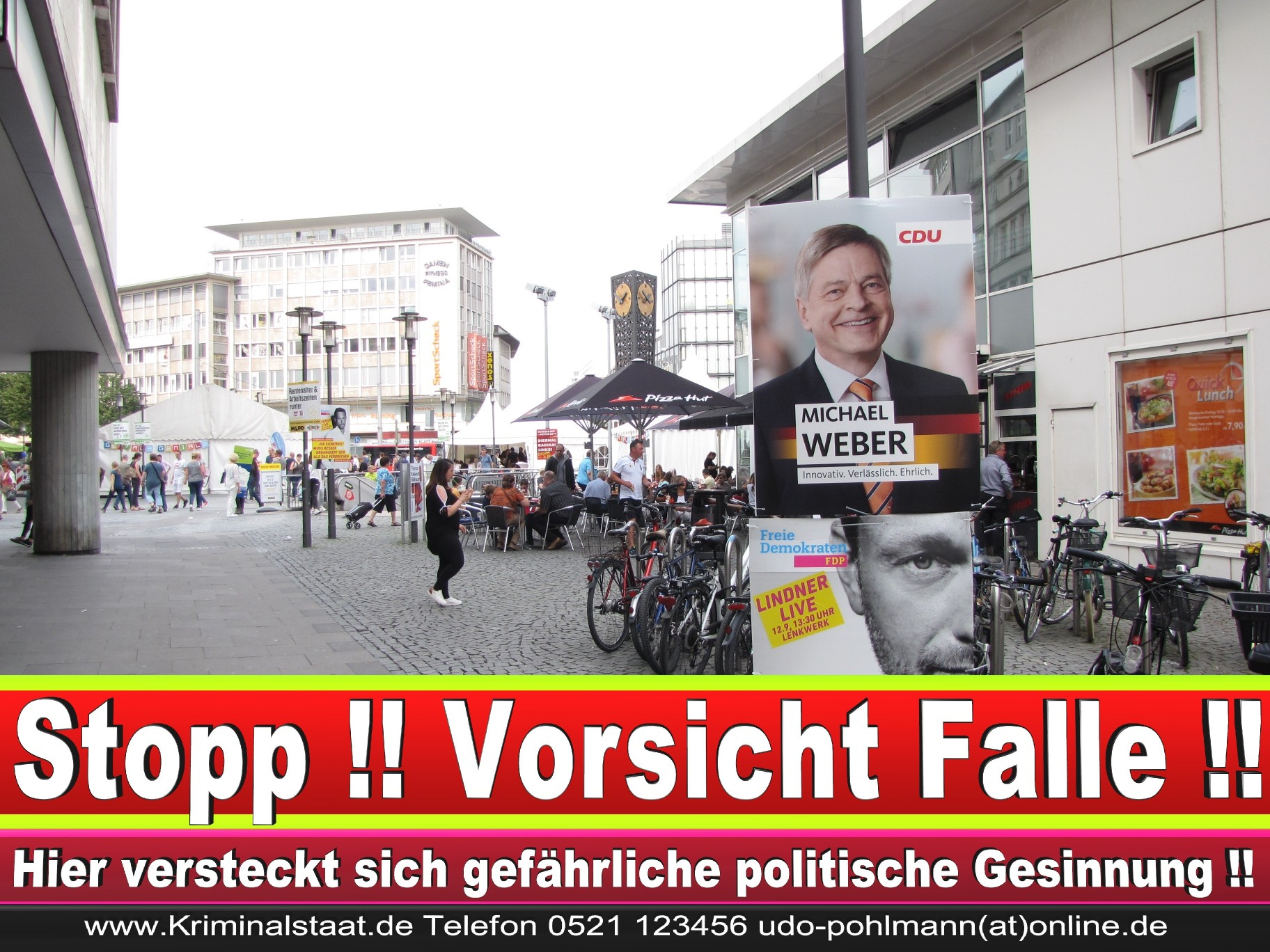 Wahlwerbung Wahlplakate Landtagswahl 2019 Europawahl CDU SPD FDP 2021 (51)