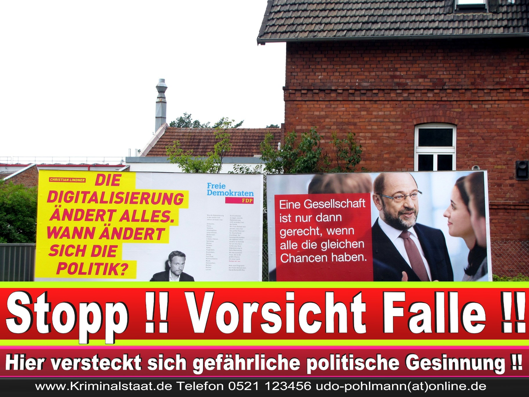 Wahlwerbung Wahlplakate Landtagswahl 2019 Europawahl CDU SPD FDP 2021 (57)