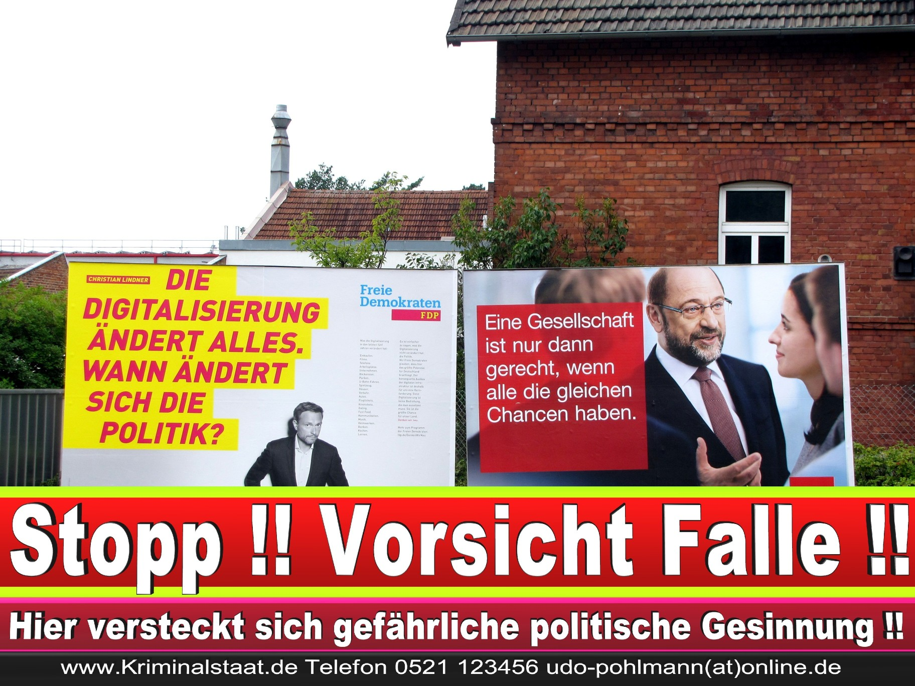 Wahlwerbung Wahlplakate Landtagswahl 2019 Europawahl CDU SPD FDP 2021 (58)