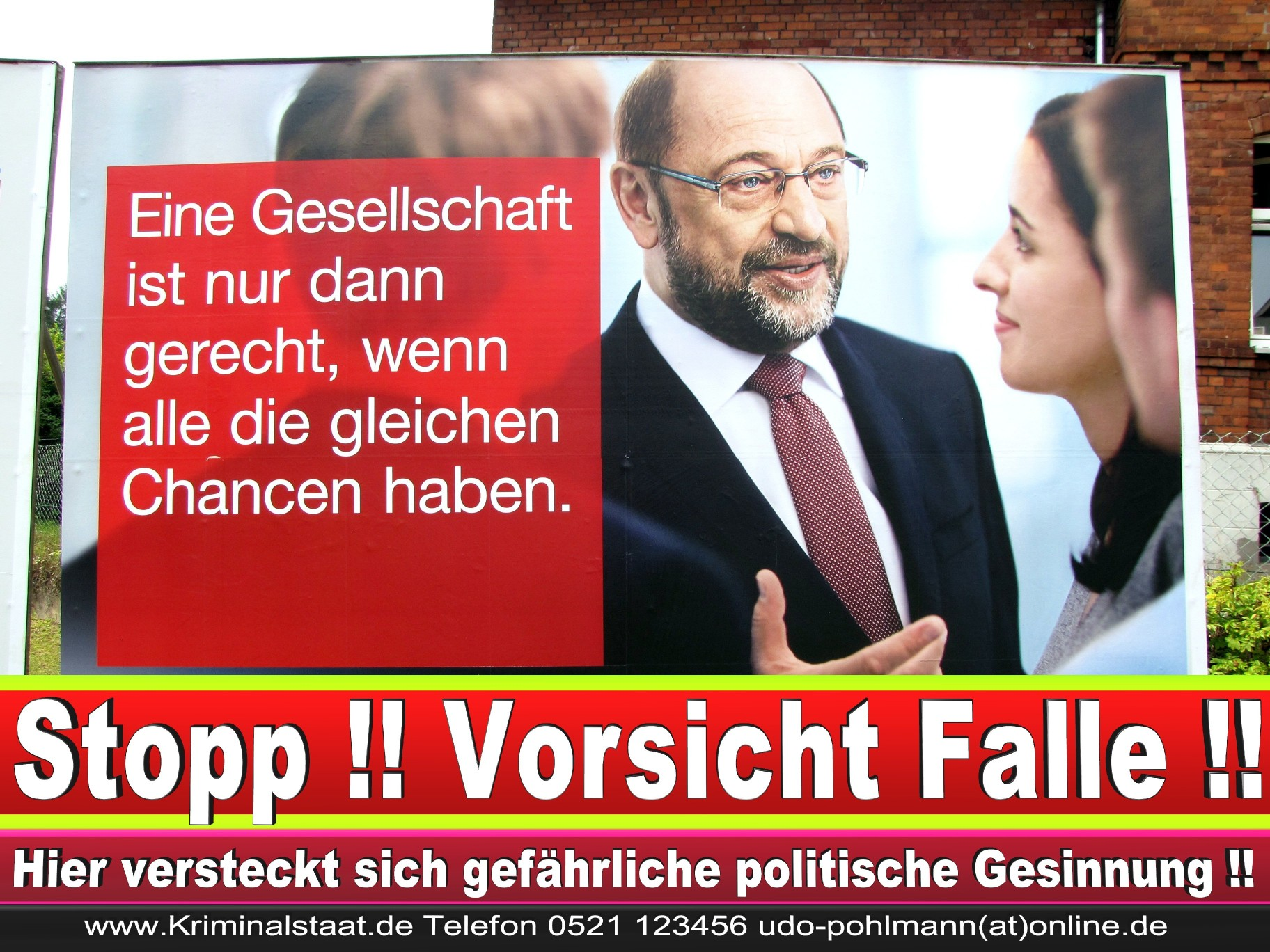 Wahlwerbung Wahlplakate Landtagswahl 2019 Europawahl CDU SPD FDP 2021 (89)