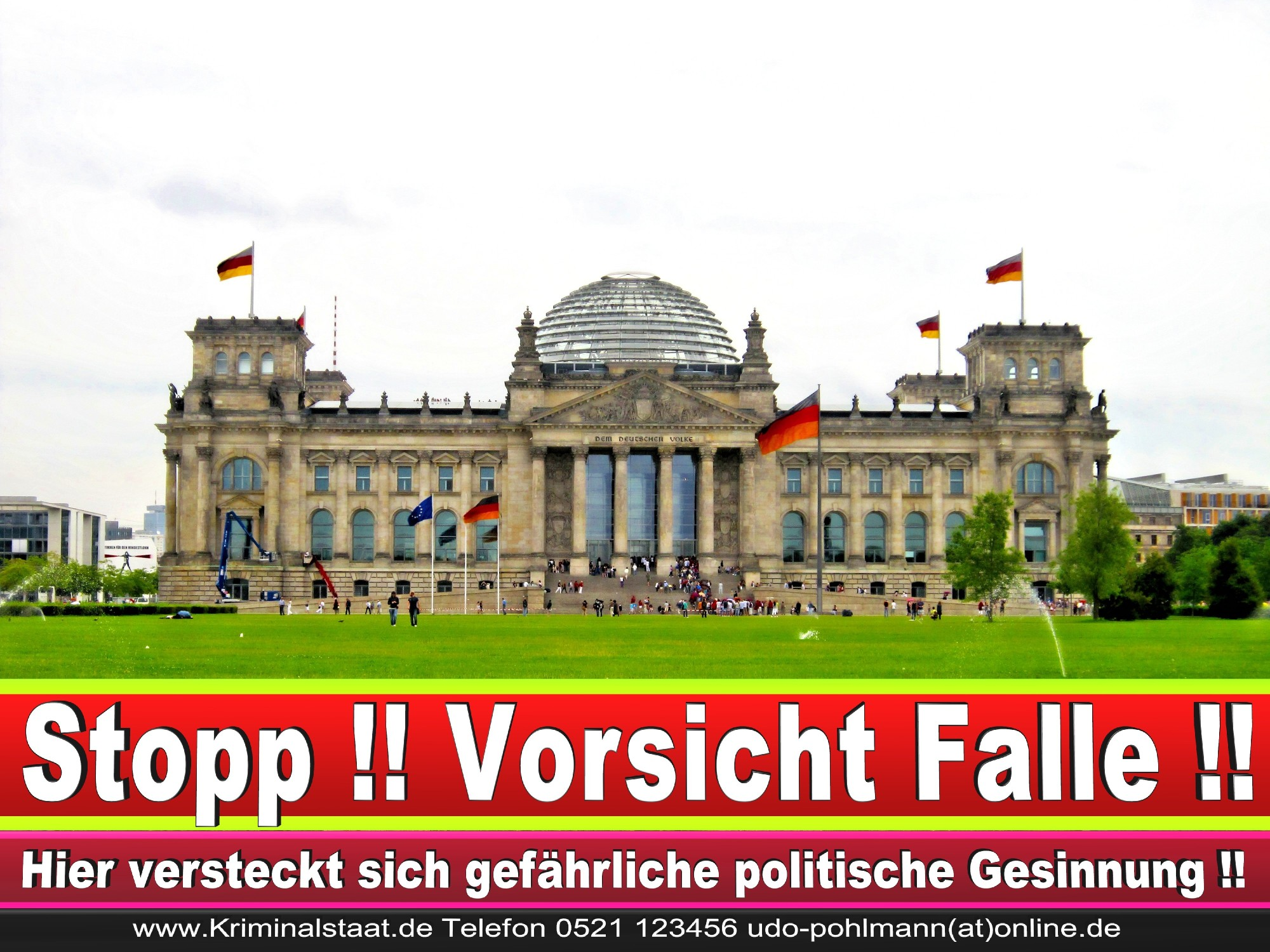 Reichstag Berlin Hd Deutsche Korruption Meldestelle 0521 123456 Edit