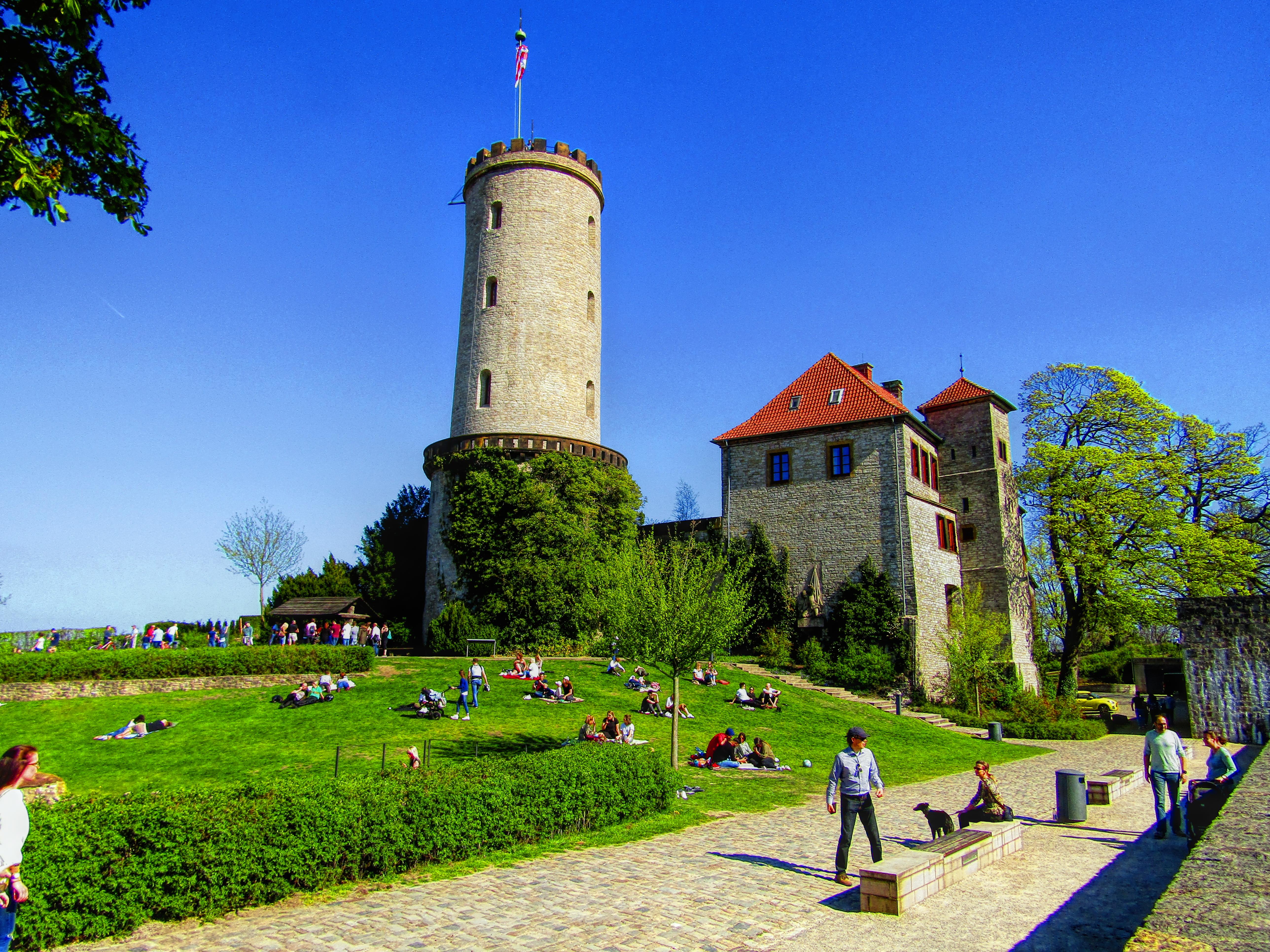 Sparrenburg Bielefeld Sparrenburgfest Mittelalter Ritter (12)